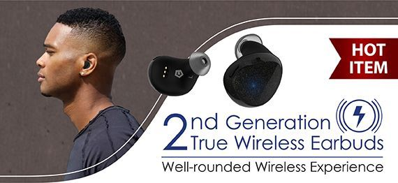 2nd Generation Cobble Pro True Wireless BT 5.0 Earphones